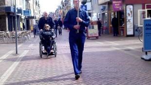 Frans Daels - Mi Dica (in de Spoorstraat te Den Helder)