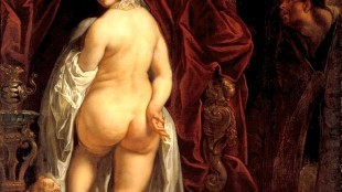 Jacob Jordaens - Candaules, King of Lydia showing his wife to Gyges