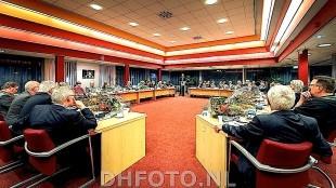 Overzicht van de raad Den Helder (DHFoto)