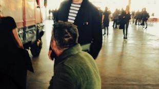 Rob Scholte met Hans Liberg op Amsterdam Art Fair