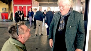 Rob Scholte met Rudi Fuchs op Amsterdam Art Fair (1)