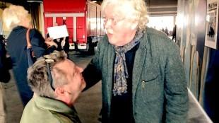 Rob Scholte met Rudi Fuchs op Amsterdam Art Fair (2)