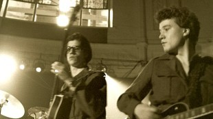 Ad van der Zee - Tim Benjamin en Peter Mertens met The Young Lions in Paradiso te Amsterdam 1981