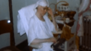 Andy Warhol in hospital