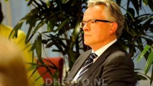 Burgemeester Koen Schuiling, co-auteur met #vissergate onderzoeker Cees Versteden
