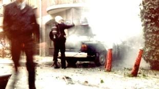 Het nablussen van Rob Scholte's BMW op 24 november 1994