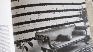 Joseph Kosuth, USA (teksten van Freud), in het huis van Caudron en Vereecken