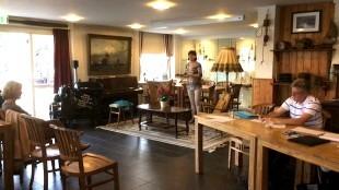 Martin van der Maas - Jacqueline van Dongen legt uit dat de binnenstad van #DenHelder de huiskamer van de stad moet worden