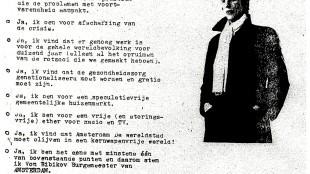 Mike von Bibikov - Stembiljet-Reagering