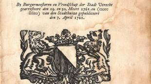 ORDONNANTIE Op het verkrygen en bewaaren van het BURGERRECHT