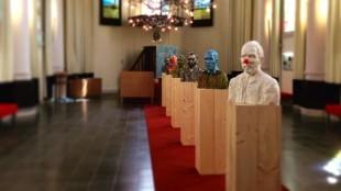 Rob Scholte - Van Gogh in Japan (op rij in de Van Gogh-kerk te Etten-Leur)