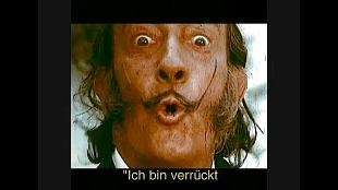 Salvador Dali - Ich bin verrückt nach Lanvin-Schokolade