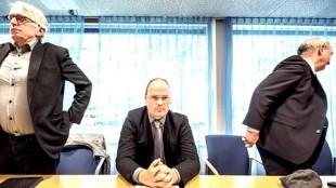 Wethouders Dirk Pastoor, Geurt Visser en Odd Wagner (foto Raymond Rutting)