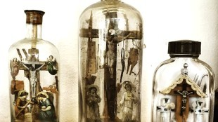 Anonymous – Crucifixion bottles