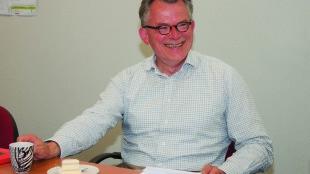 Burgemeester Koen Schuiling (foto Akse Media)