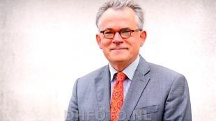Burgemeester Koen Schuiling te gast bij De Ochtenden op Radio 1 (archieffoto DHFOTO)