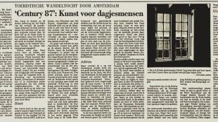Century 87 in De Stem 25 augustus 1987