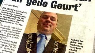 Den Helder in de ban van 'geile Geurt'