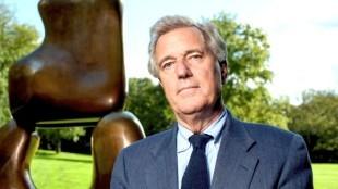 Joop van Caldenborgh, Rotterdamse industrieel, uitgeroepen tot meest invloedrijke persoon in de Nederlandse beeldende kunst door Stichting Kunstweek (foto Raymond van Houten)