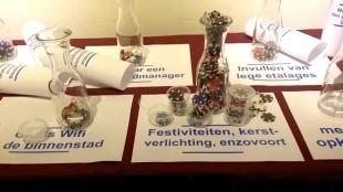 Muntjes ter beoordeling van het gemeentebeleid in Den Helder