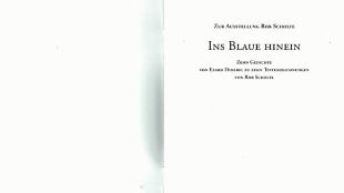 Rob Scholte & Edzard Dideric - Ins Blaue Hinein (2)