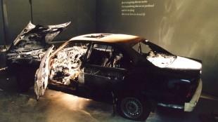 Rob Scholte's  autowrak (ANP Herman Pieterse)