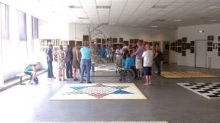 Rob Scholte's rondleiding door museum met ROC Den Helder docenten