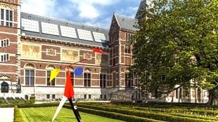 The legendary Rijksmuseum gardens