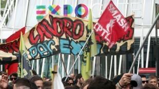 We do not work for free Expo (EPA / Matteo Bazzi)