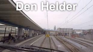 Eindhalte Station Den Helder met links het Rob Scholte Museum