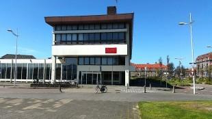 Het Rob Scholte Museum in het voormalig postkantoor