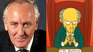 Johan Remkes (VVD) - Mister Burns (The Simpsons)
