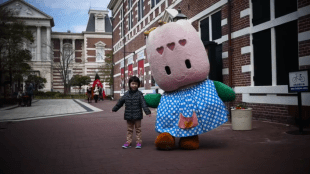Mali trip to Huis Ten Bosch Japan