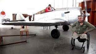 Rob Scholte & Frank Borst in een nieuwe zaal van het Rob Scholte Museum