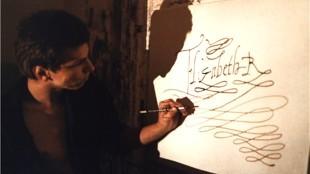 Rob Scholte schildert aan Your Sincerely midden jaren 80