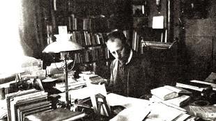 Albert Verwey in Villa Nova te Noordwijk