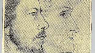 Jan Toorop - Albert Verwey & Stefan George
