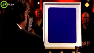 Joost Zwagerman in DWDD over het blauw van Yves Klein