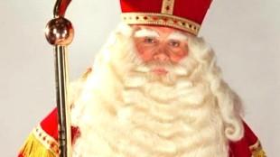 Marcel Karhof als Sinterklaas (foto Sint Nicolaas Genootschap)