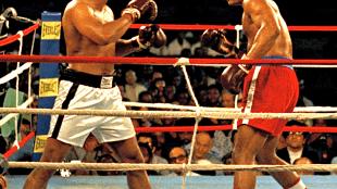 Mohammed Ali versus George Foreman