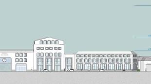 Ontwerp voor nieuwbouw NS-Station en Stadhuis Den Helder