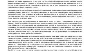 Open Brief aan de leden van Stadspartij Den Helder