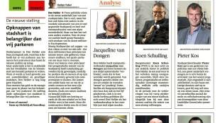 Opinie & Commentaarpagina Helderse Courant, 26 september 2015 (1)