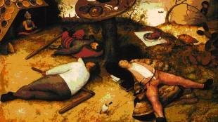 Pieter Bruegel de Oude - Het Land van Cocagne