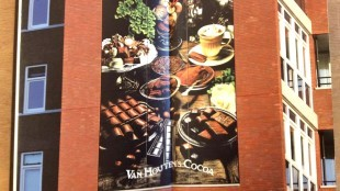 Rob Scholte - Hot chocolate (opengeslagen, 2 pagina's binnenzijde)