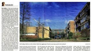 Ronald den Boer - Stadhuis verscheurt Den Helder in Schager Courant, 17 februari 2014