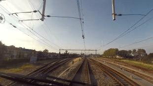 Aankomst bij station Den Helder