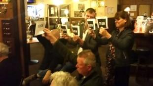 De wethouders Kos en Van Dongen zijn tegen (foto Ronald den Boer / Holland Media Combinatie)