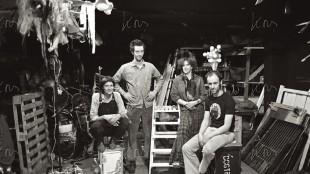 Dogtroep met v.l.n.r. Lino Hellings, Jos Zandvliet, Katrien Bos en Warner van Wely (foto Kors van Bennekom)