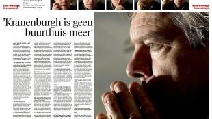 Dominic Schijven - Interview Kees Wieringa: 'Kranenburgh is geen buurthuis meer', NHD 24 oktober 2015
